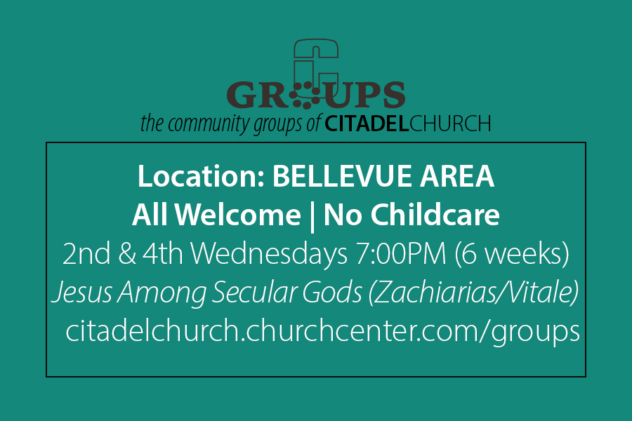All Welcome | Bellevue Area - 2nd & 4th Wednesday 7:00PM - No Childcare | 6 Weeks